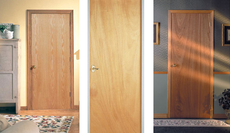 Interior doors philadelphia flush doors custom doors for Flush solid core wood interior doors