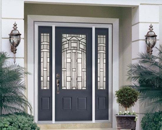 Emejing Steel Exterior Doors Contemporary - Interior Design Ideas ...