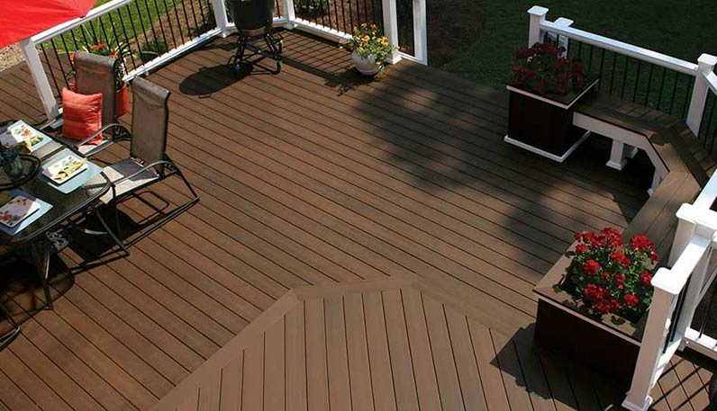 Woodland Building Supply Stocks A Full Line Of Composite Lumber And PVC Decking Products For All Your Project Needs Is Now