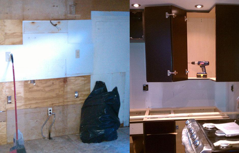 Bella-Vista-Renovation Kitchen - Before & After