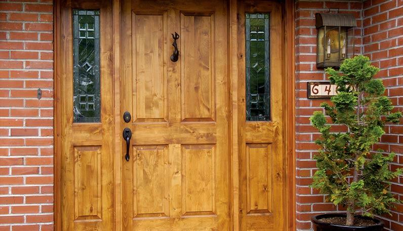 Woodland Stocks A Variety Of Exterior Doors
